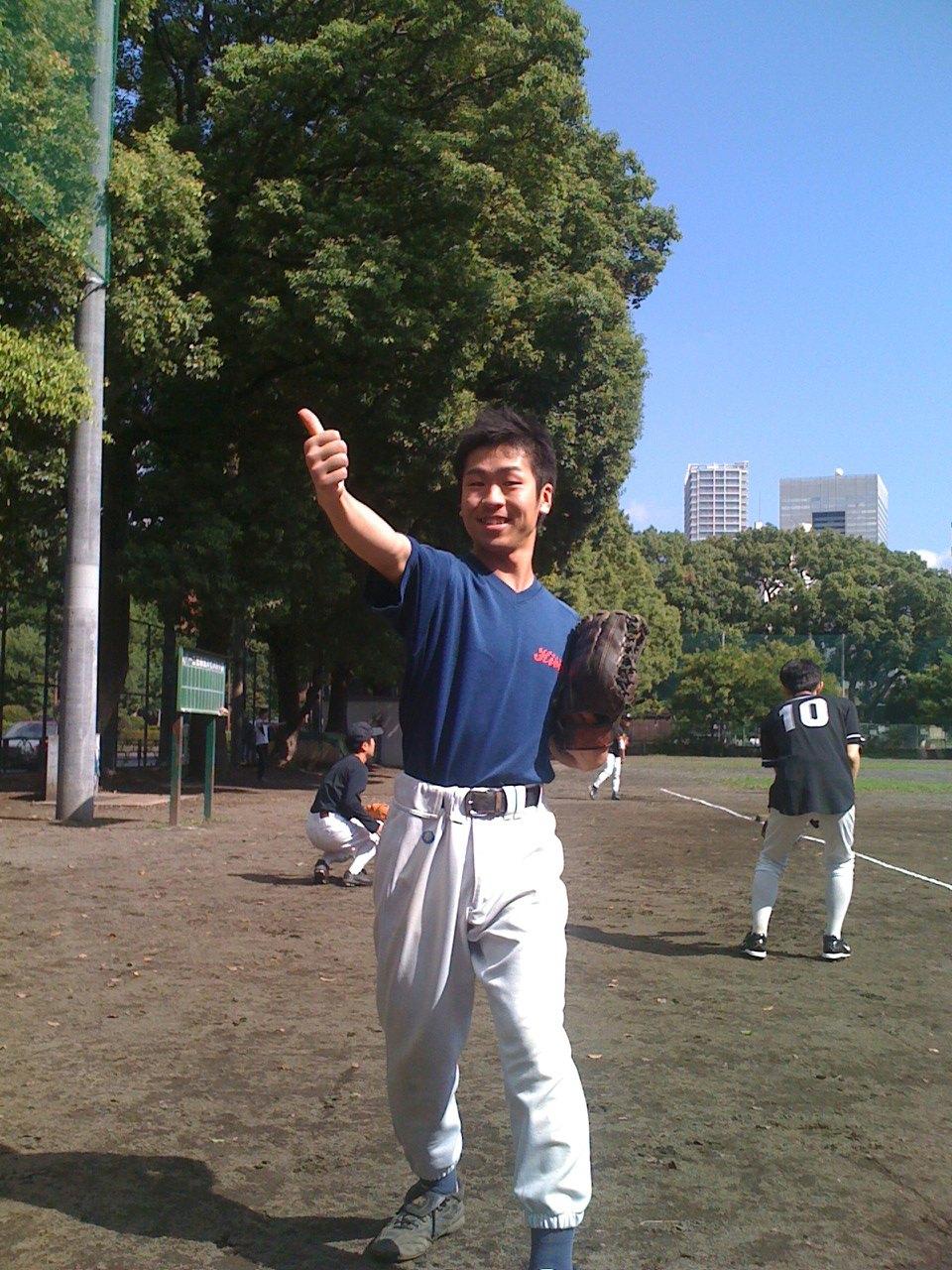 野球〜!!!