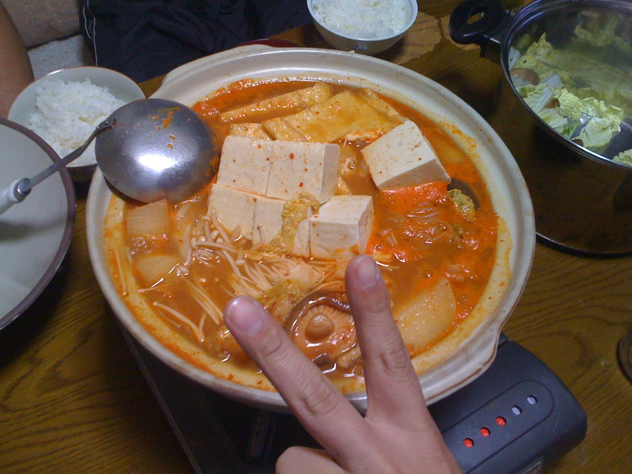 鍋鍋鍋〜!!!