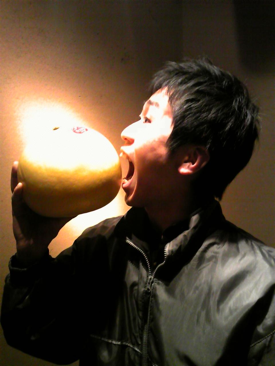 晩白柚〜!!!
