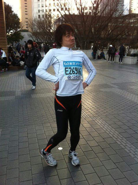 東京マラソン〜!!!